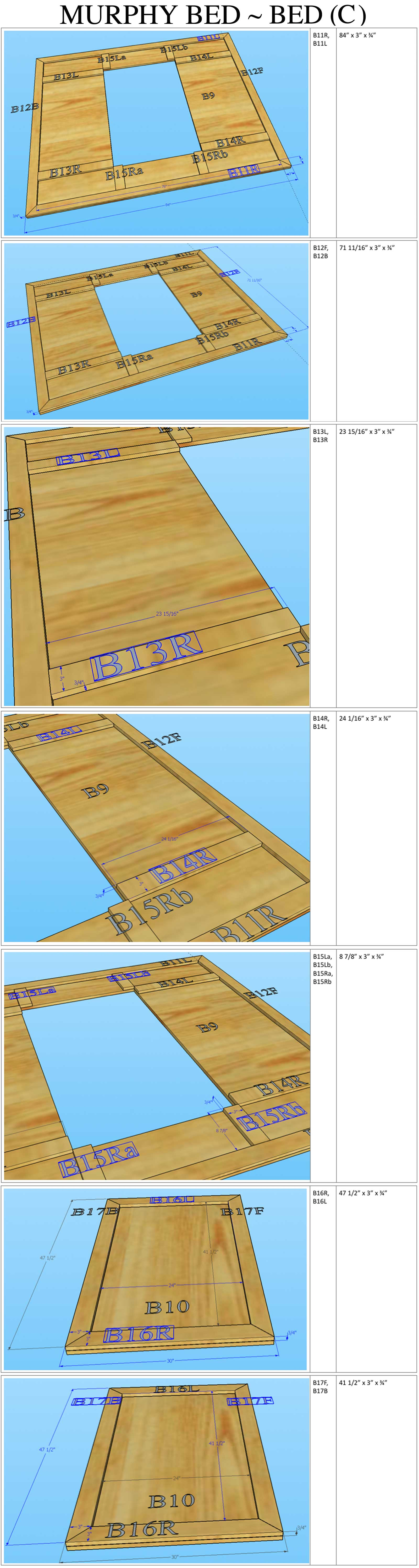 murphy bed assembly instructions