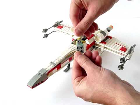 lego x wing instructions 4502