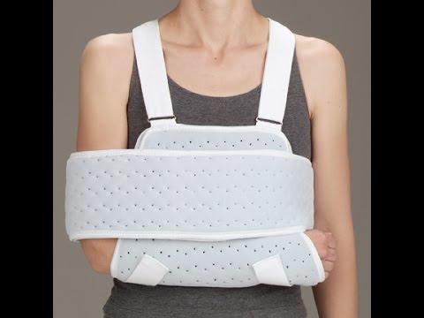 shoulder immobilizer sling instructions