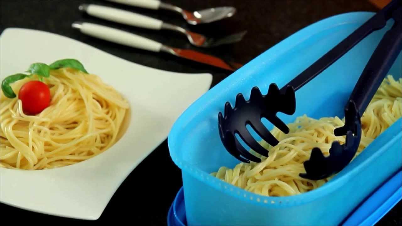 tupperware microwave pasta maker instructions