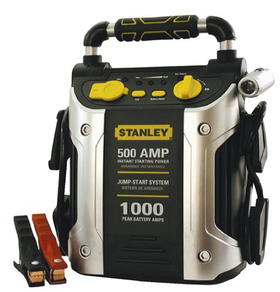 stanley 500 amp jump starter instructions