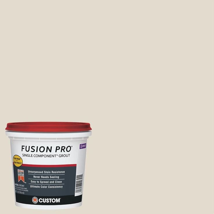 fusion pro grout instructions