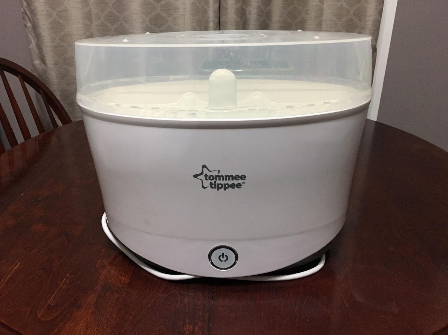 tommee tippee electric sterilizer instructions