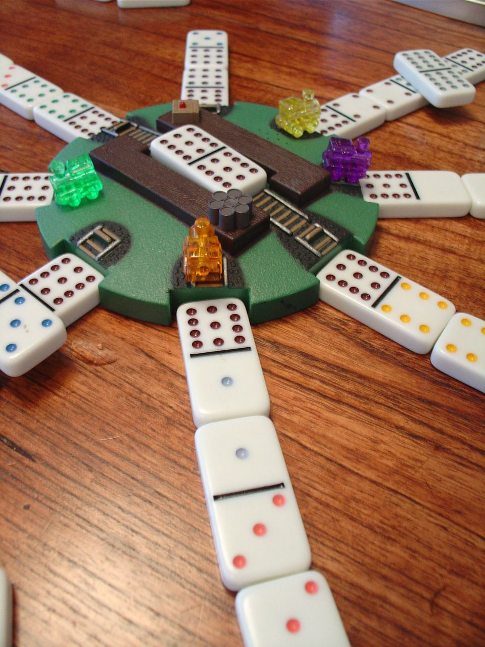 domino train game instructions
