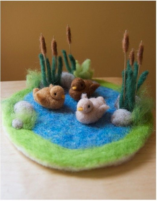 needle felting instructions for beginners
