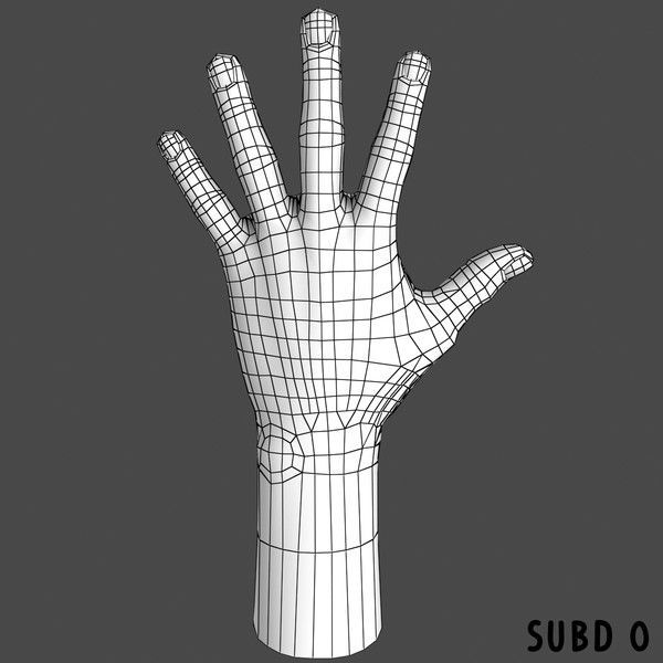 3d hand drawing instructions