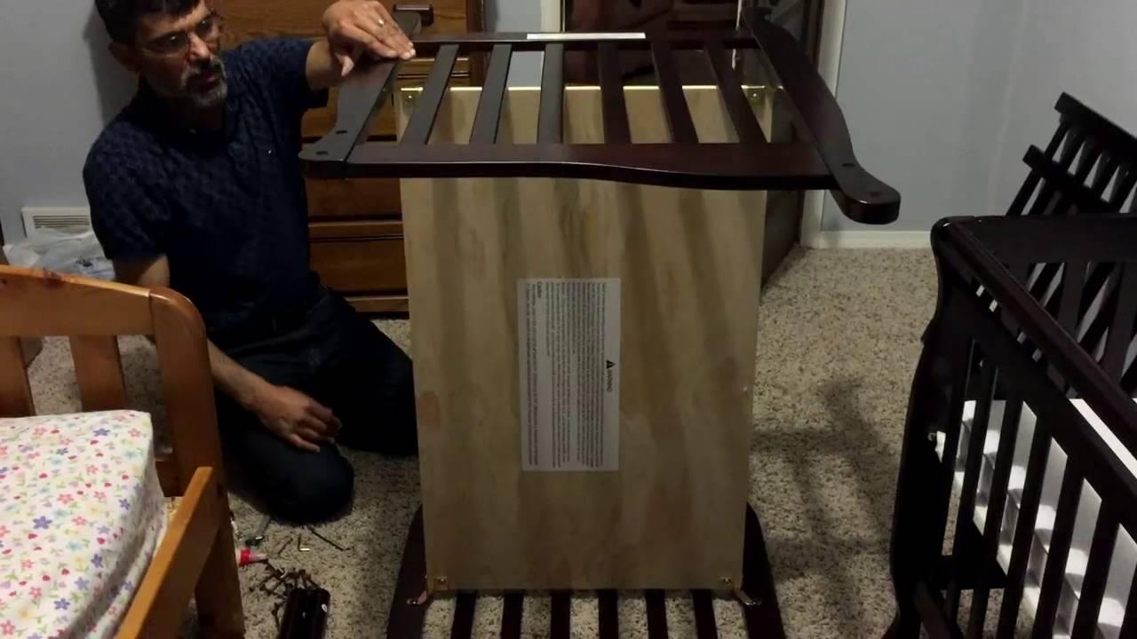 shermag crib conversion instructions