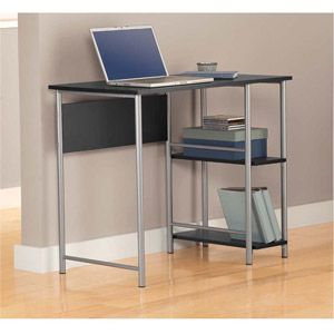 instructions for my mainstays basic student desk black and silver