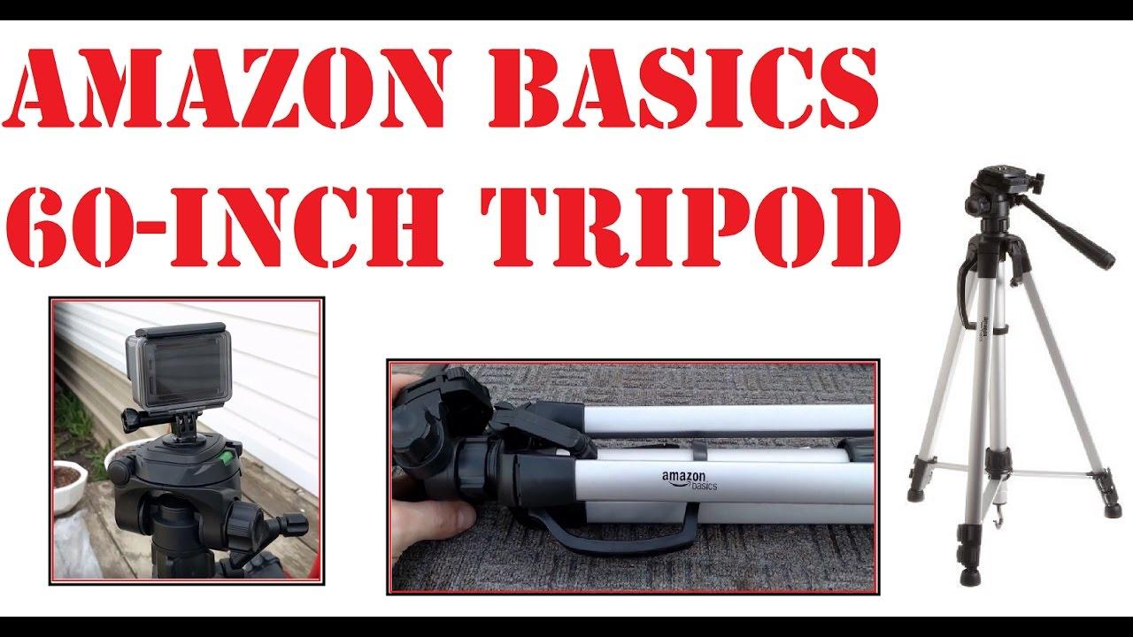 amazonbasics 60 inch lightweight tripod with bag instructions