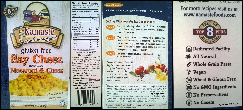 kraft dinner instructions box