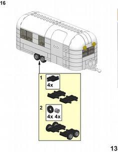 lego city camper trailer instructions
