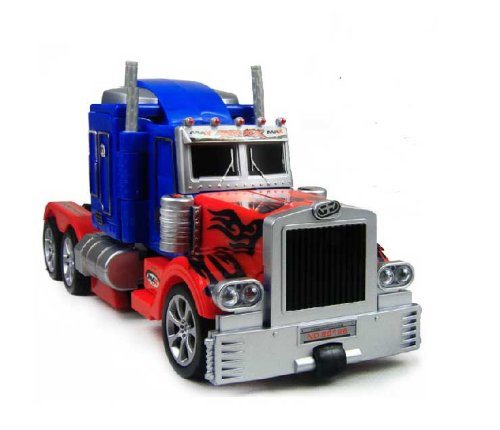 optimus prime truck toy instructions
