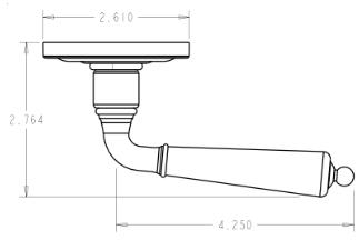 baldwin door knob installation instructions
