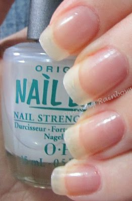 opi natural nail strengthener instructions