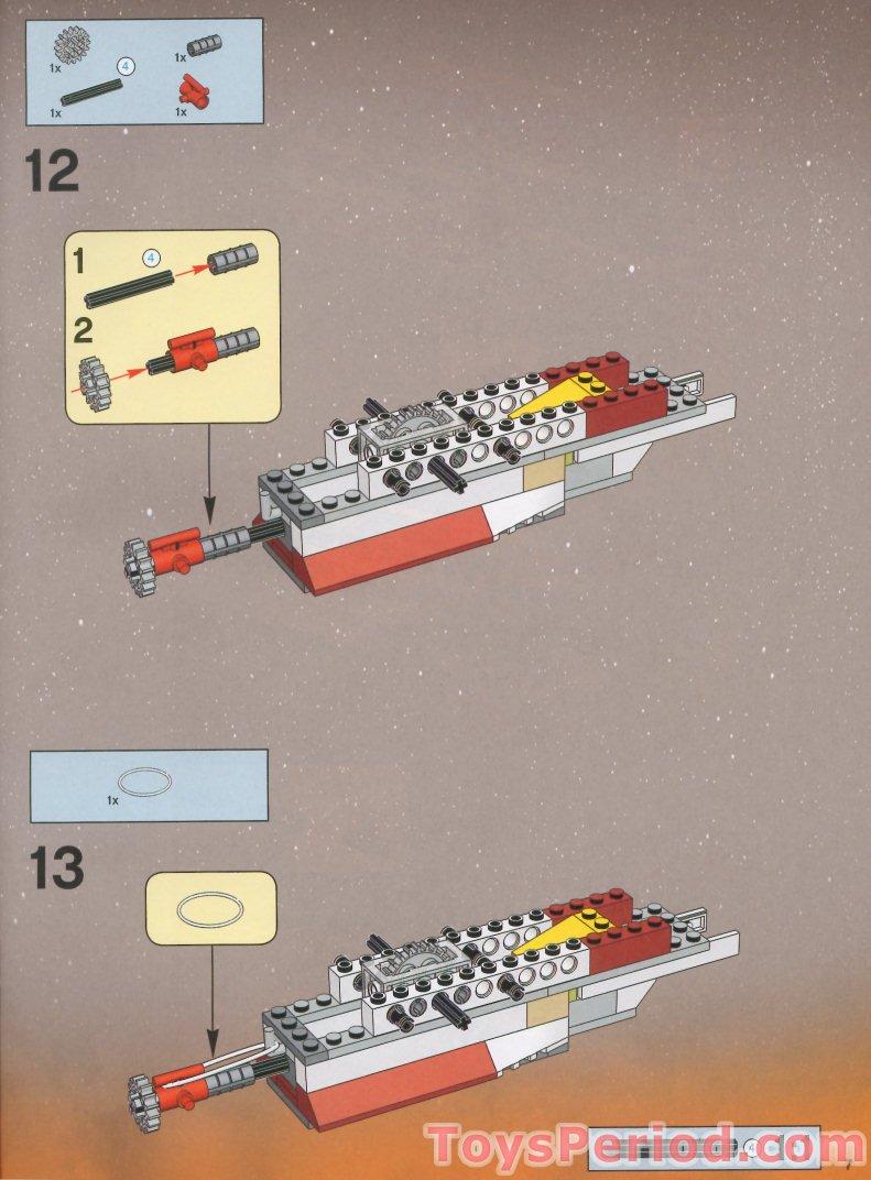 arc 170 starfighter lego instructions