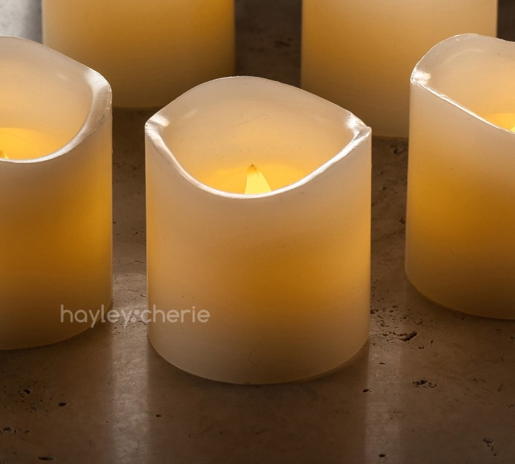 battery operated candles with timer instructions