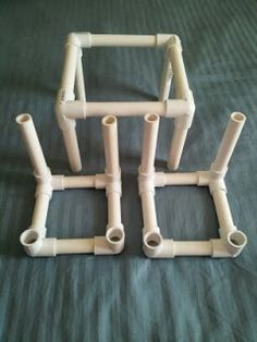 pvc pipe furniture building instructions