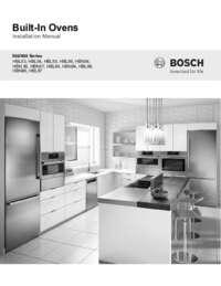 bosch hbl8751uc installation instructions