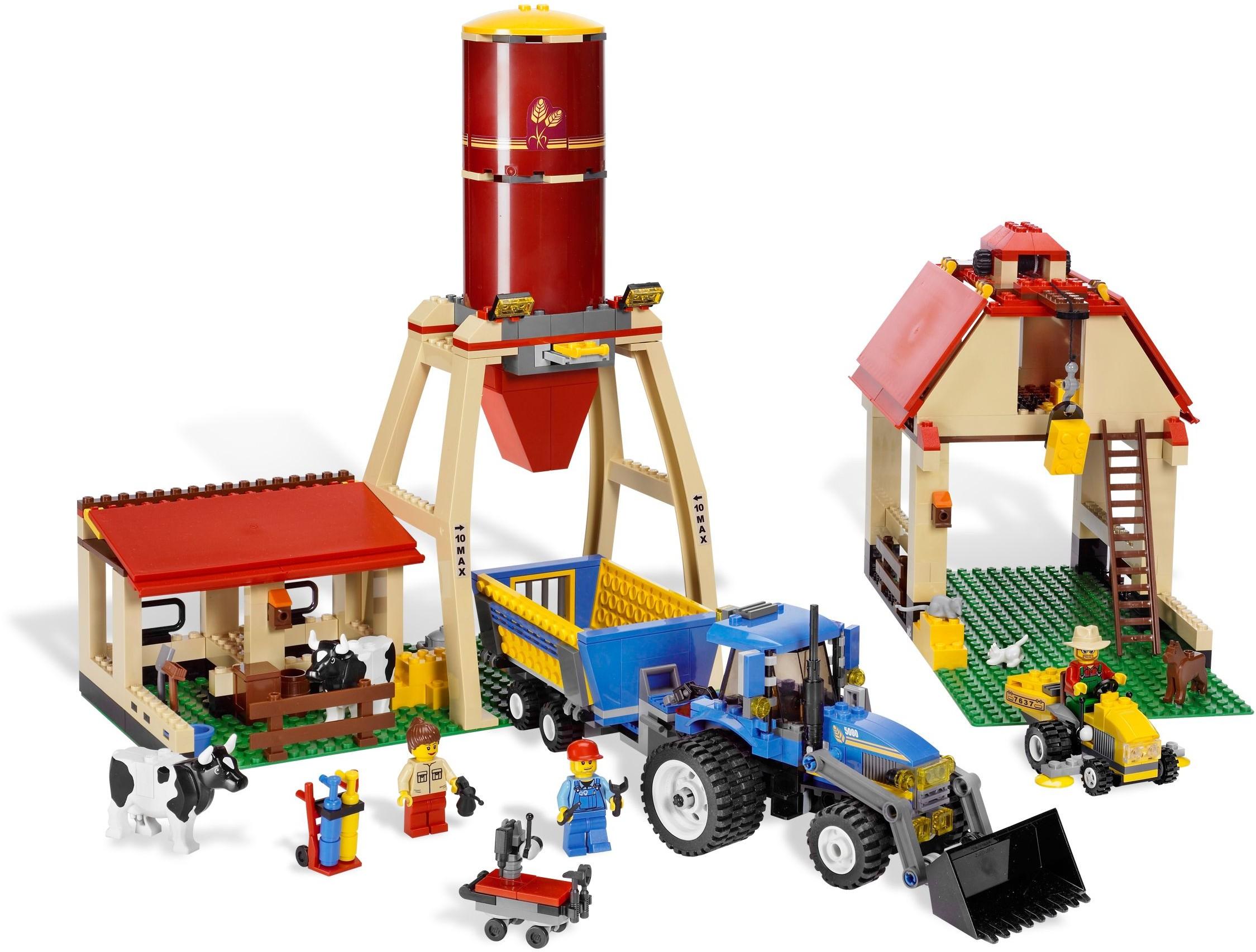 lego farm set instructions