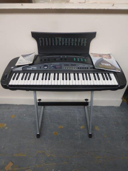 casio keyboard stand instructions