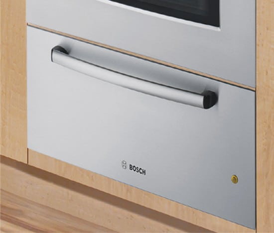 bosch warming drawer installation instructions