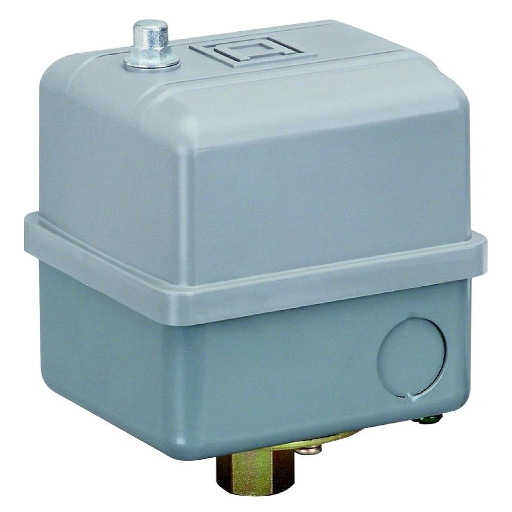square d water pump pressure switch instructions
