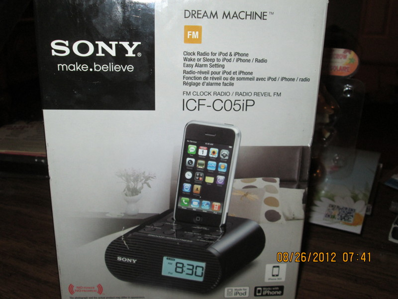 sony alarm clock instructions