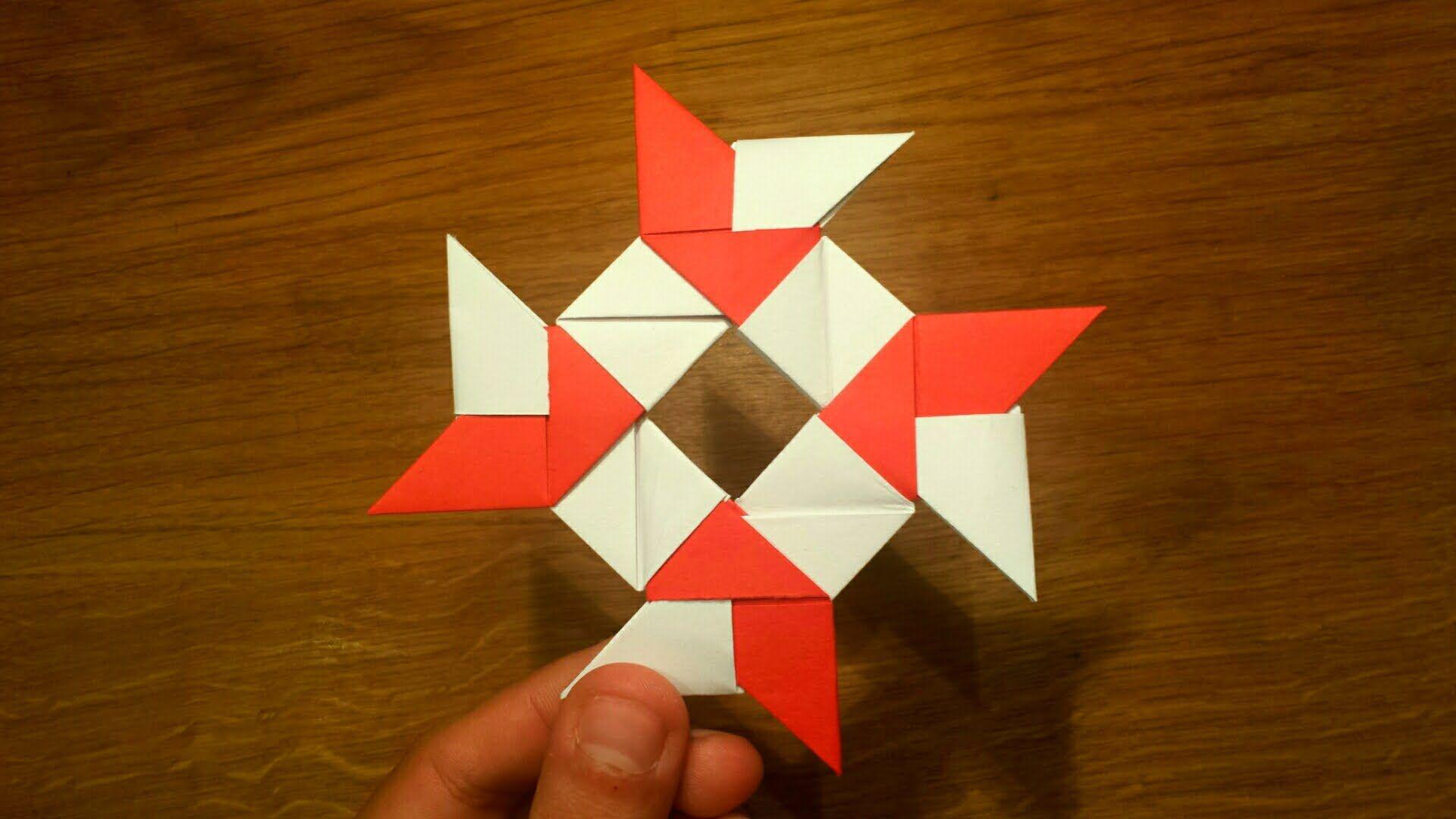 paper ninja star instructions