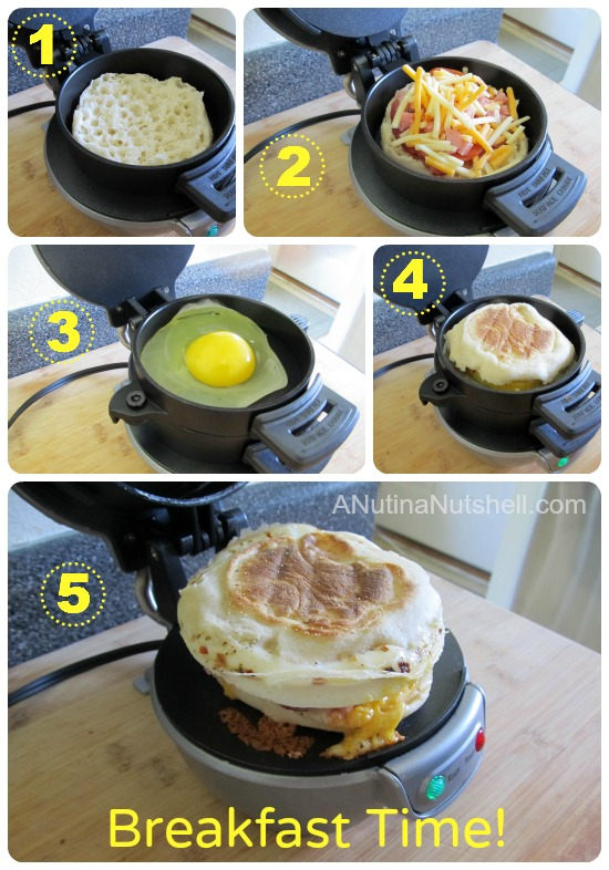 hamilton beach dual breakfast sandwich maker instructions