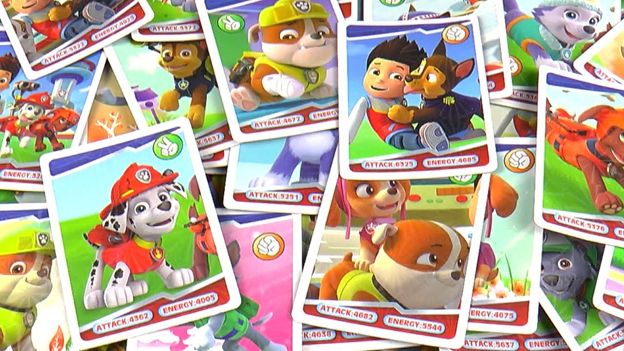 paw patrol memory match game instructions