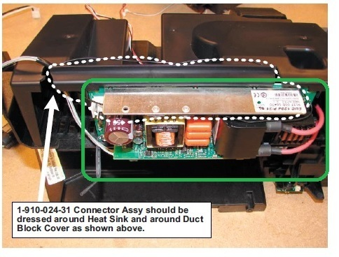 sony kdf e50a10 lamp replacement instructions