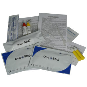 chlamydia swab test instructions male