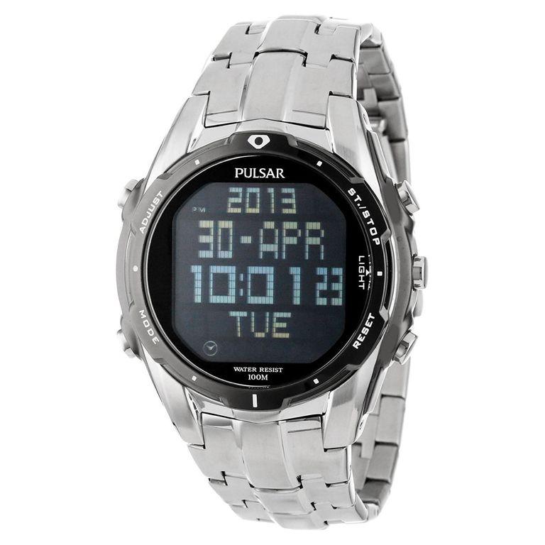 pulsar digital watch instructions
