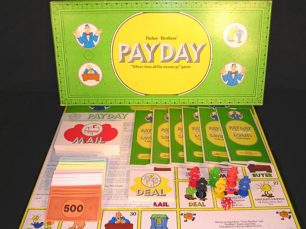 payday board game instructions