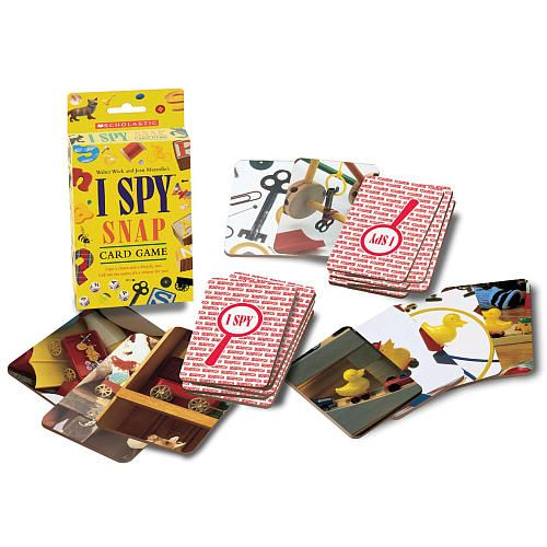 i spy snap card game instructions