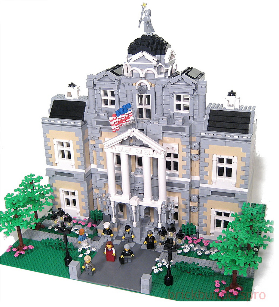 lego architecture building instructions