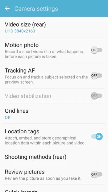 samsung galaxy s7 camera instructions