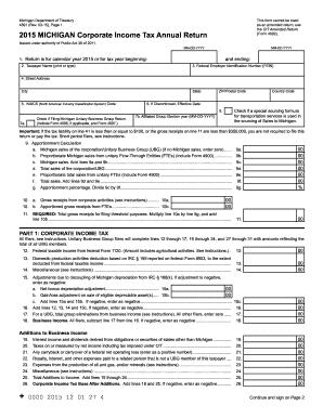 michigan form 4891 instructions 2015