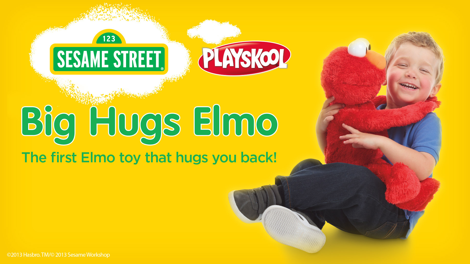 big hugs elmo instructions