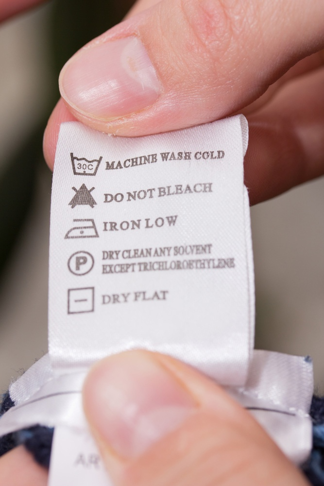 washing instruction labels to buy