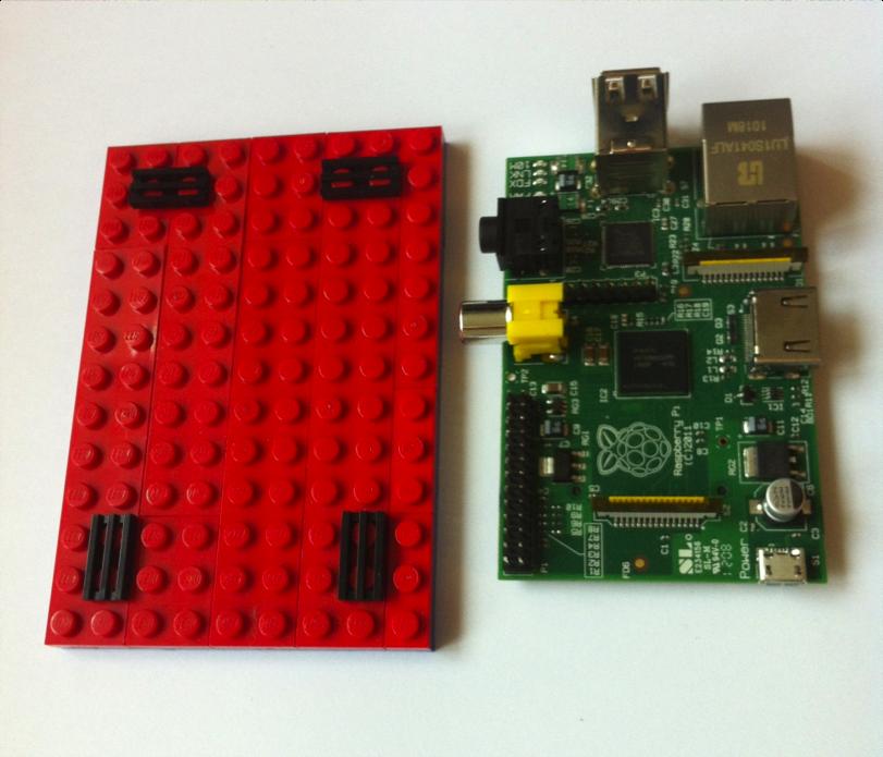 raspberry pi 3 lego case instructions