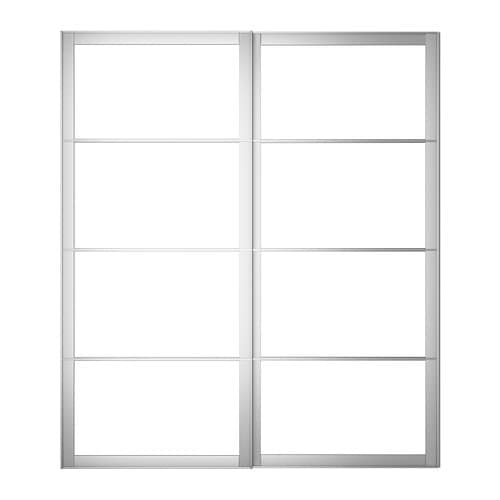 ikea pax sliding door wardrobe instructions