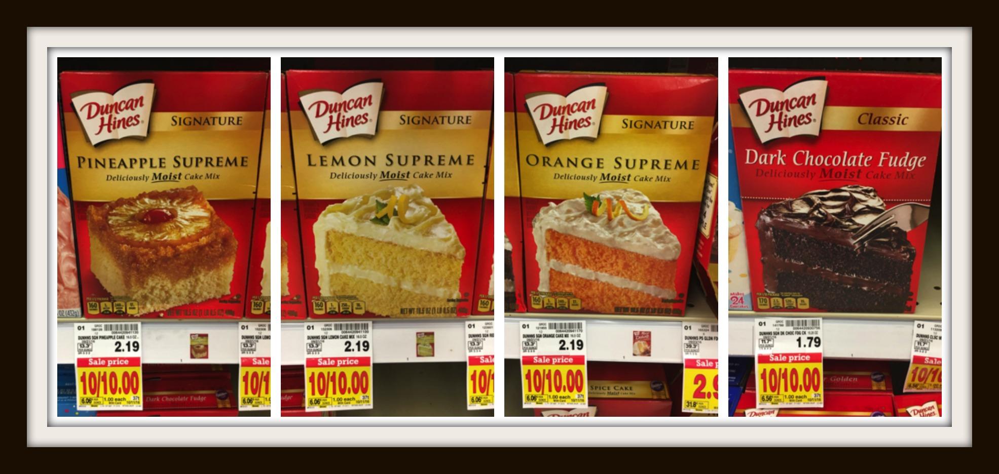 duncan hines cupcake mix instructions