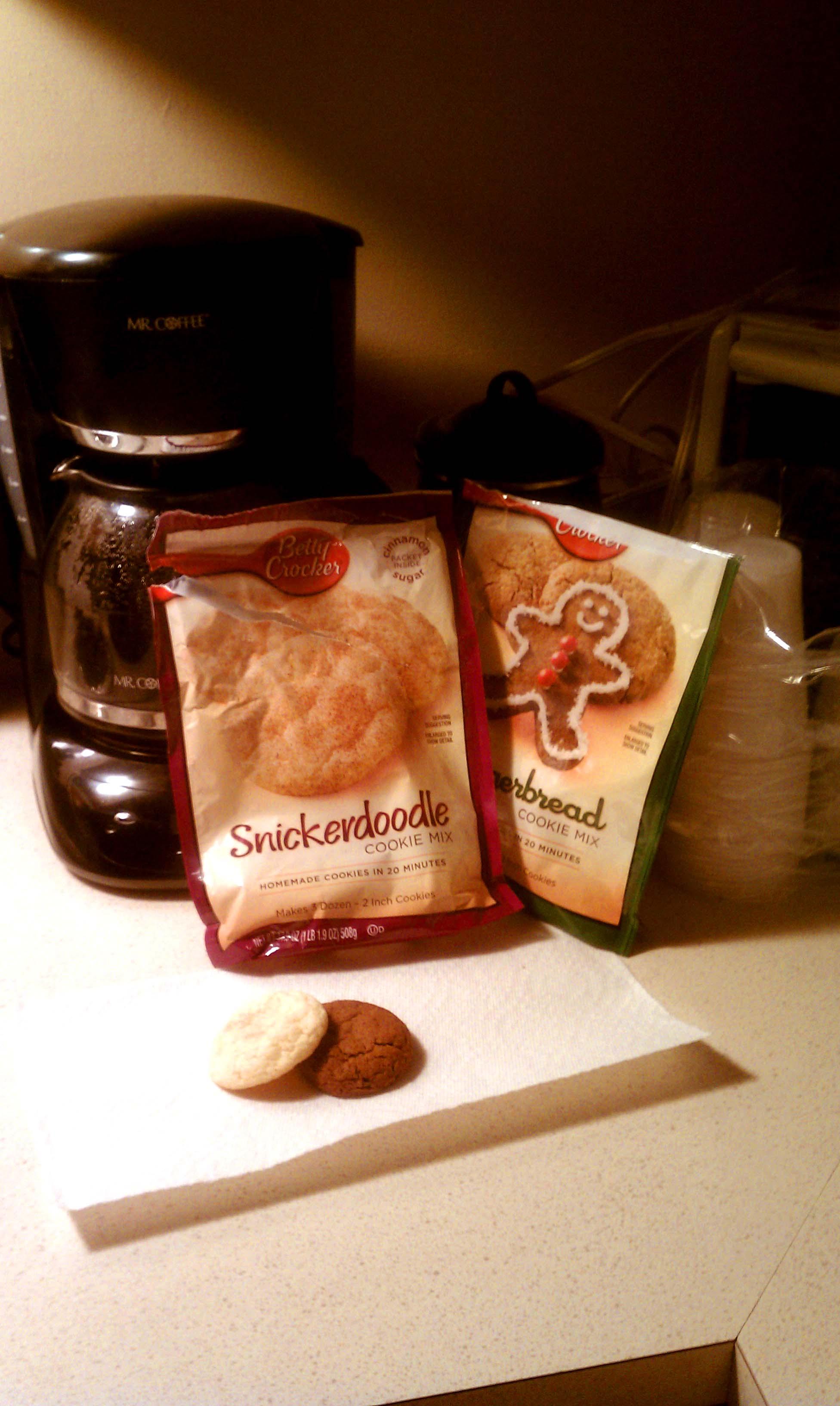 betty crocker snickerdoodle cookie mix instructions