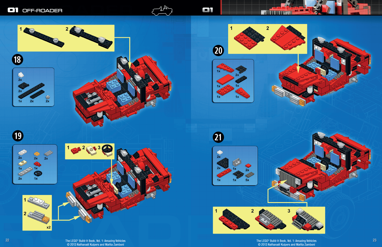 lego ideas book instructions