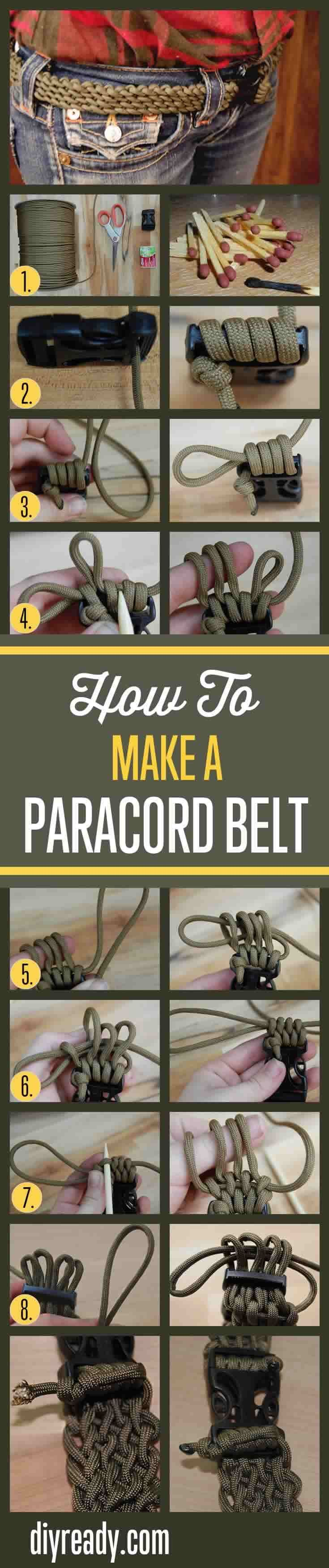 paracord instructions step by step