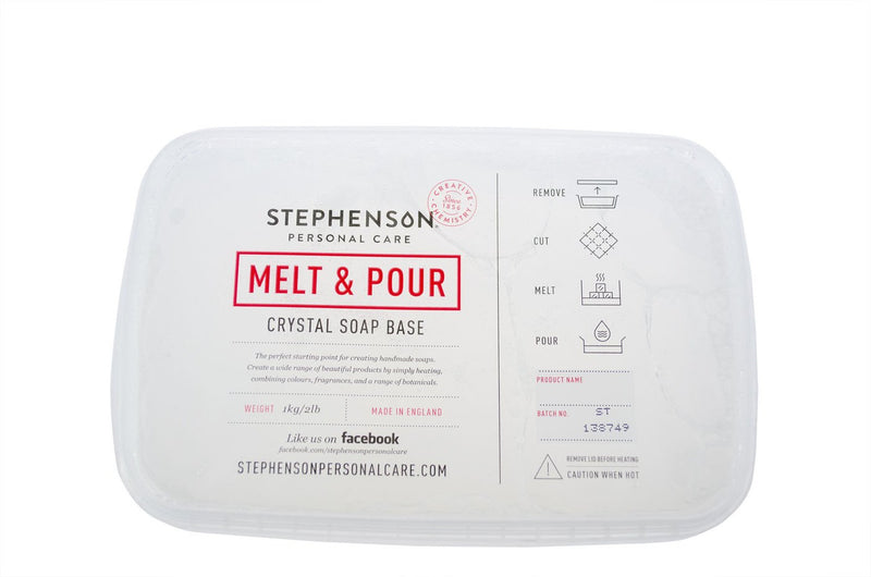 stephenson melt and pour soap base instructions