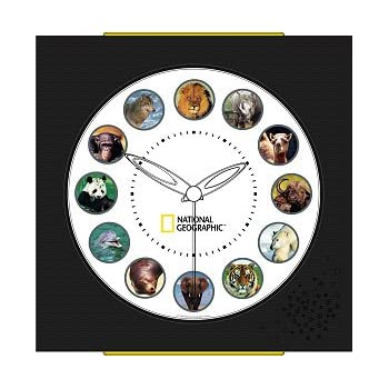 national geographic clock instructions