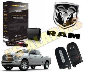 2014 dodge ram remote start instructions