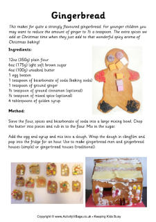 easy gingerbread house recipe and instructions